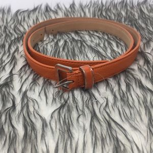 Talbots Sz Medium Orange Belt New without Tags 🏷